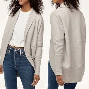 ARITZIA Wilfred Diderot Open-Front Cocoon Cardigan